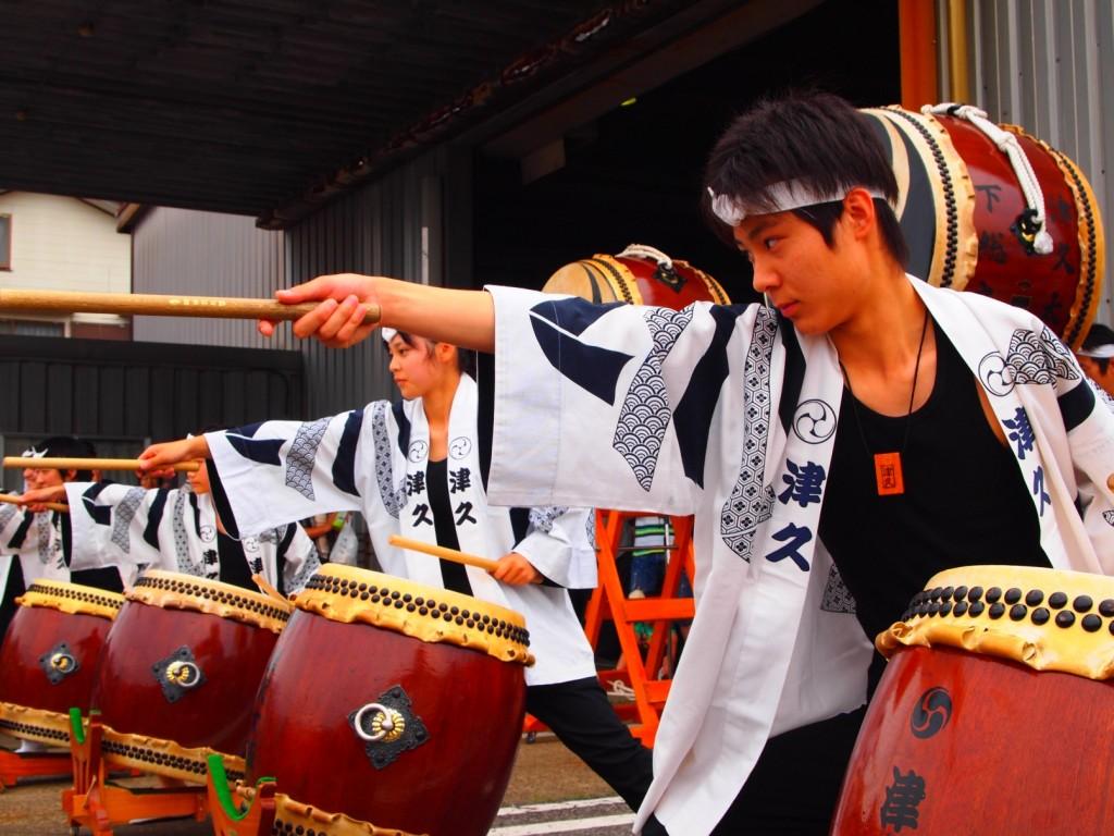 野田の和太鼓集団|津久太鼓・響|写真